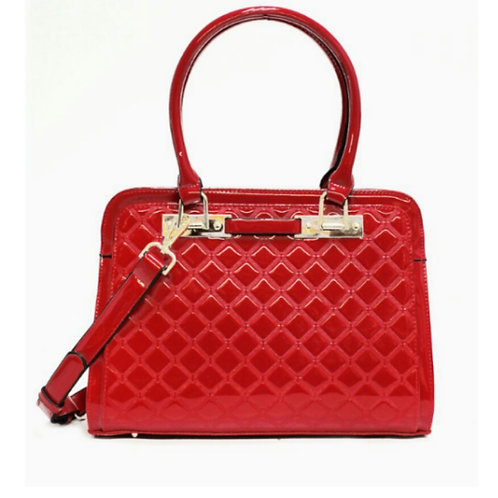 Chic Quilted Gloss Essential Tote