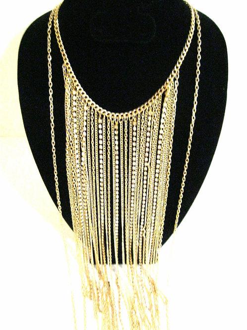 Sexy Mama Fringe Necklace