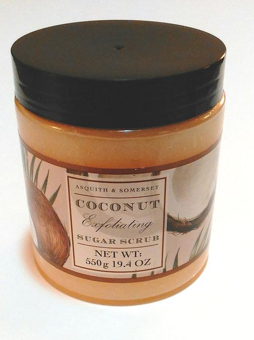 Coconut Exfoliating Sugar Scrub