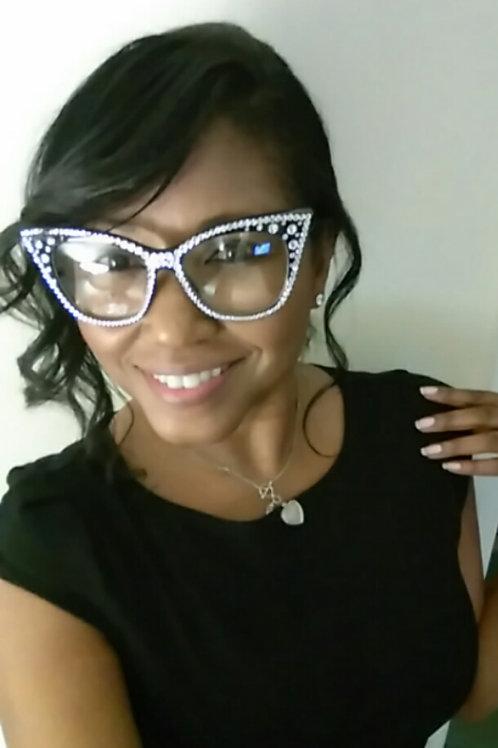 Big Cat Crystal Clear Glasses