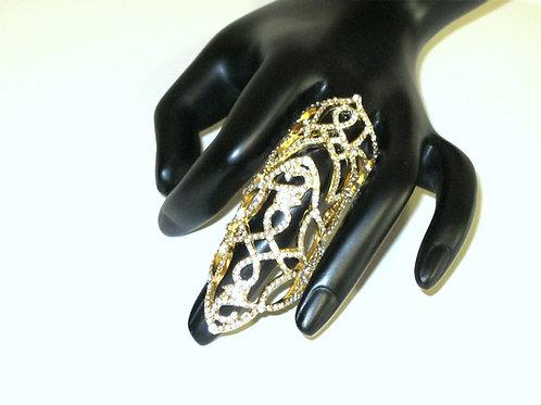 Enchanted Gold Filigree Ring