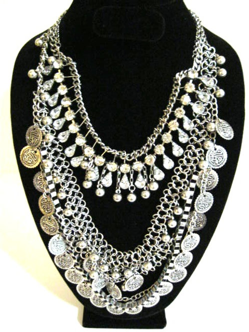 Fashion Week Coins Necklace