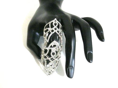 Enchanted Silver Filigree Ring