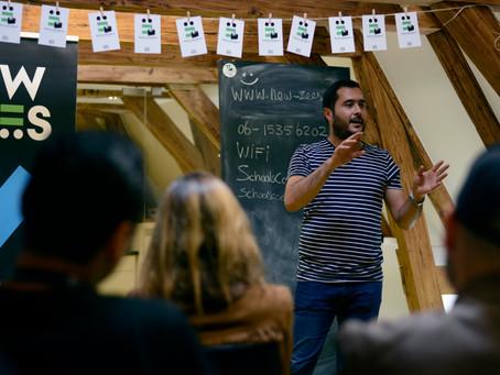 """NewBees Perspectives: """"Moeten vluchten is geen keuze, maar proactief zijn als vluchtelingen wel"""""""