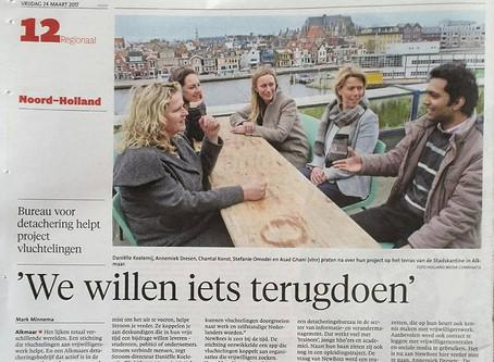 NewBees in Noordhollands Dagblad