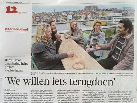 NewBees in Noordhollands Dagblad