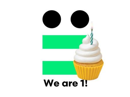Fijne verjaardag voor ons!