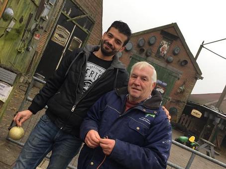 NewBees at Work: Bij Abdul op de Fronik boerderij in Zaanstad