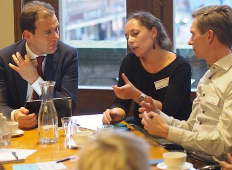 Changemaking Collaborations: NewBees bespreekt aanpak integratie met Lodewijk Asscher