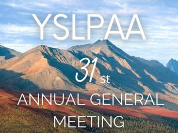 2021 YSLPAA Annual General Meeting