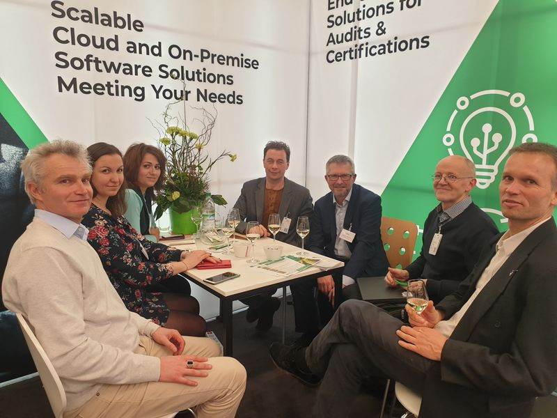 On the initiative of its director Ivan Garaev, the Institute of Organic Agriculture (IoA), CERES and Organic Services met on the occasion of BIOFACH 2020 to discuss their cooperation on the certification of organic farms according to the EU regulation and the integration of data into Check Organic.