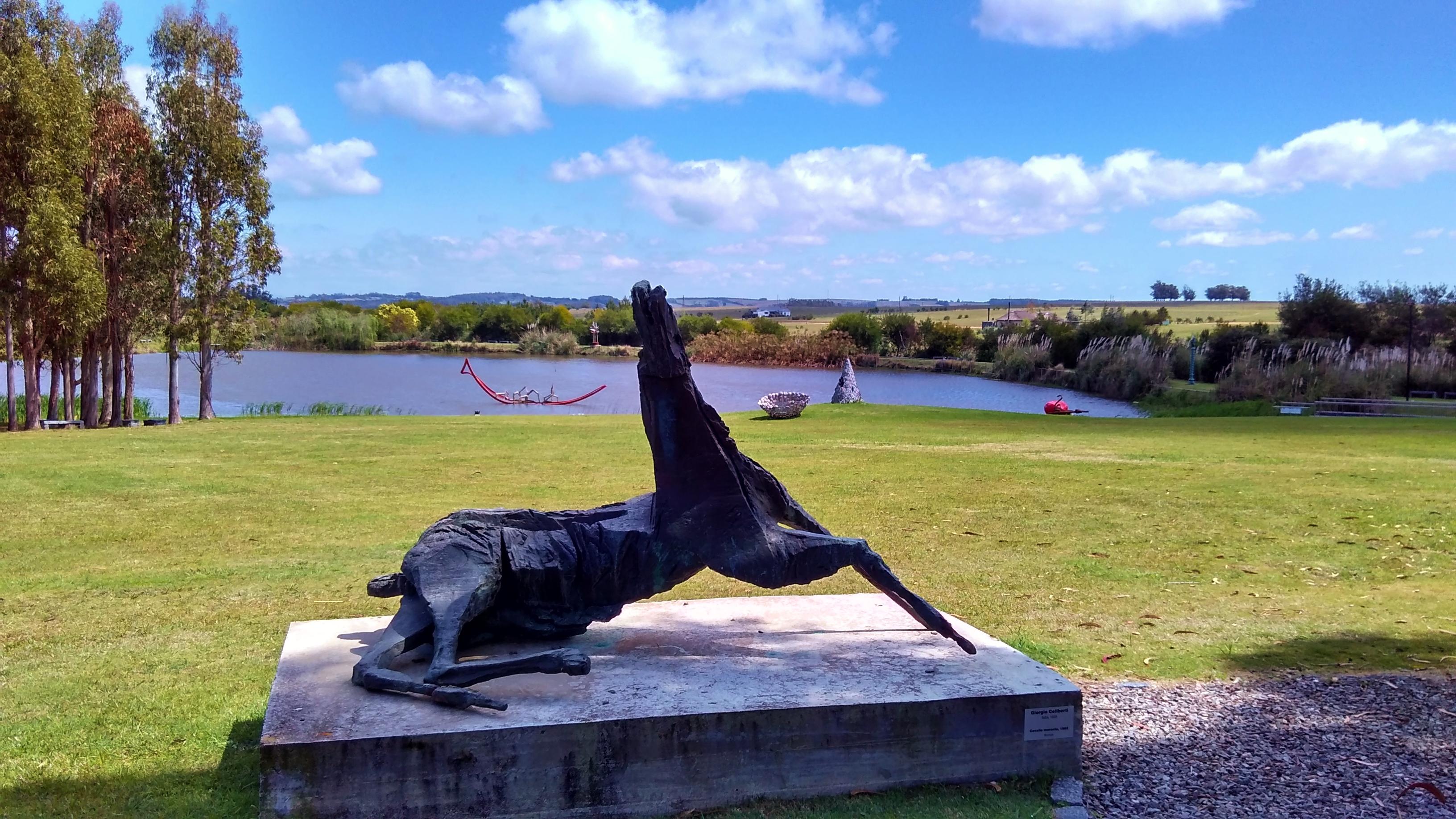 Parque das esculturas no Uruguai