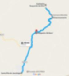 Mapa Santa Rita de Jacutinga