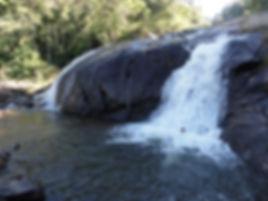 Cachoeira em Santa Rita de Jacutinga