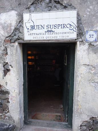 Restaurante El Buen Suspiro em Colonia del Sacramento no Uruguai