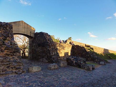 Portón de Campo em Colonia Del Sacramento no Uruguai