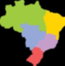 Mapa do turismo no Brasil