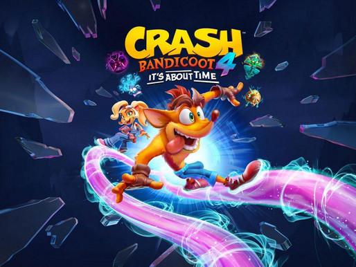 Impressões sobre a Demo de Crash Bandicoot 4: It's About Time