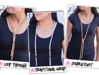 Wrapped in Style: the Scarf Necklace