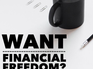 Want Financial Freedom?