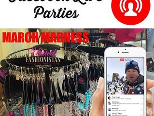 Facebook LIVE Parties
