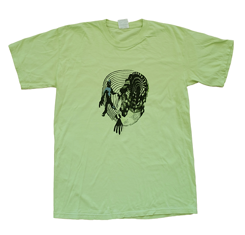 INTO VOID TEE [LIME]
