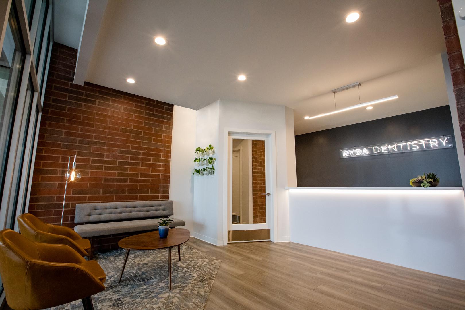 Ryba Dentistry   Reception