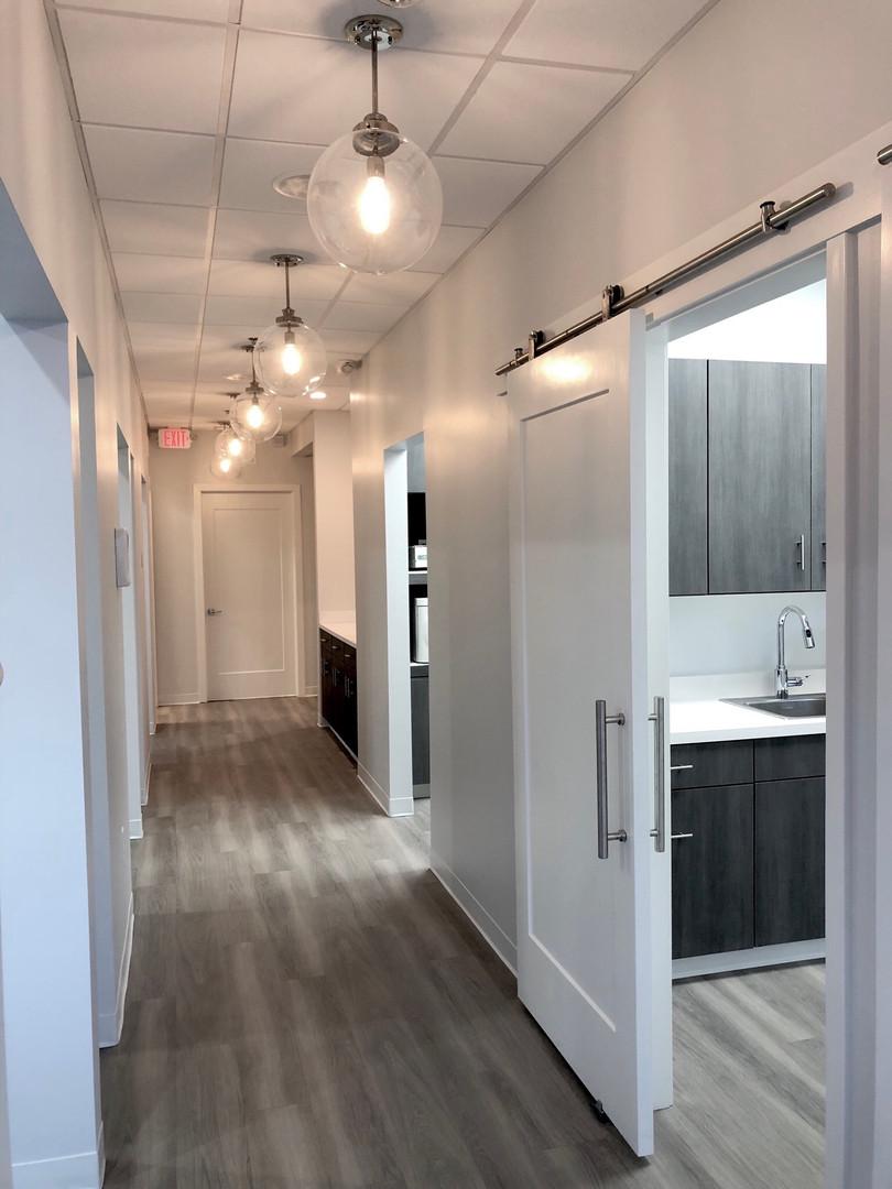 Ryba Dentistry   Hallway