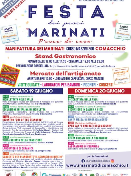 Programma Festa Marinati 2021