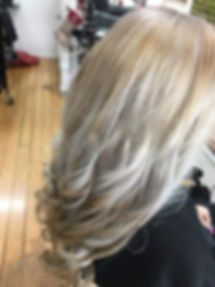 colour correction at hairsalon gympie, toned blonde hairdresser gympie, experienced senior hairdresser, long hair gympie, curly hair specilist gympie, gympie horse races, race days gympie, upstyles gympie