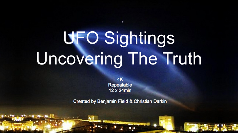 UFO: Uncovering the Truth