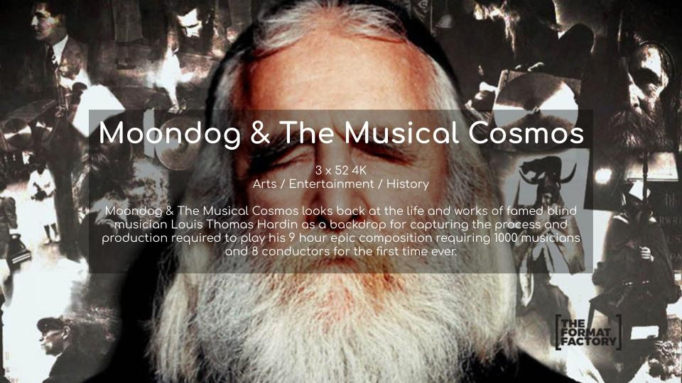 Moondog & The Musical Cosmos
