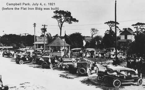 A 4th of July 1921 celebration at Campbell Park