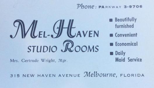 Mel-Haven Studio Rooms