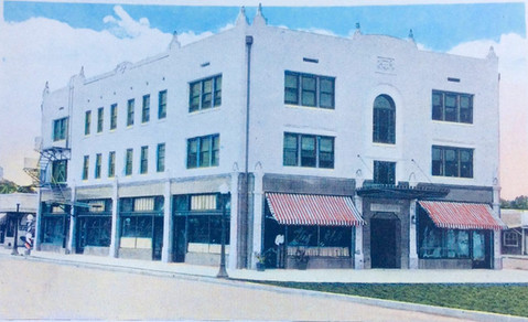 A 1925 postcard of the beautiful new building