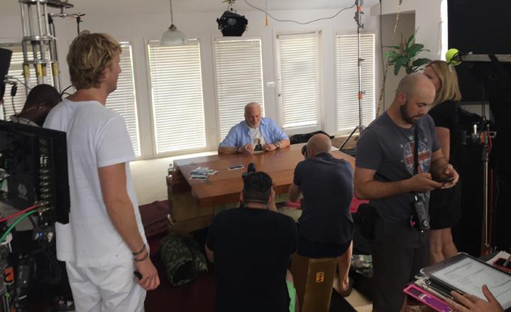 Quaker Oats Buzz Aldrin filming location