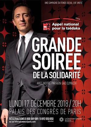 Affiche Solidarité 2018