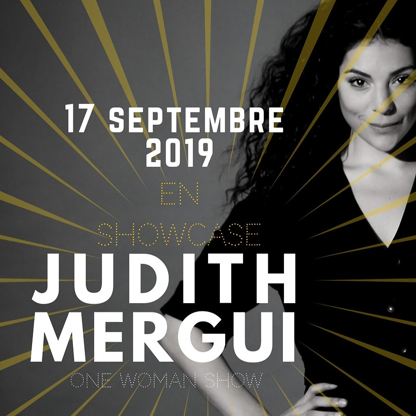 JUDITH MERGUI - SHOWCASE  17 SEPTEMBRE A 20H00