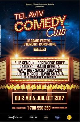 Tel Aviv Comedy Club 2017 Affiche