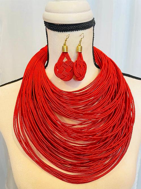 Statement multi strand Necklace