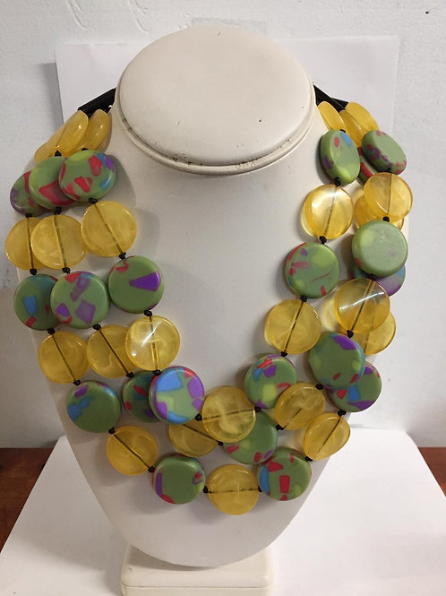 Multi Layered Stoosh Necklace Set