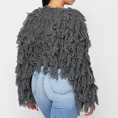 The Shaggy Grey Sweater