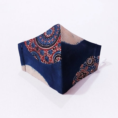 Cotton Mask - Blue Dsigno
