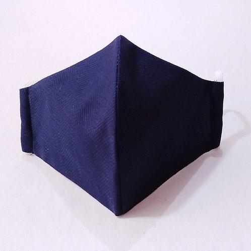 Cotton Mask - Solid Blue