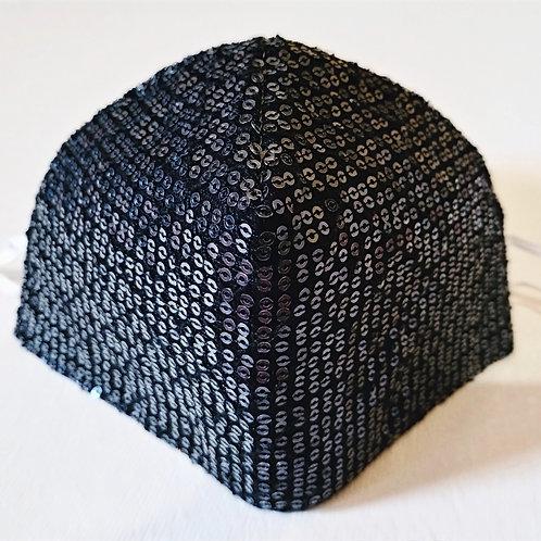 Cotton Mask - Glamour Black
