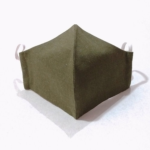 Cotton Mask - Solid Green