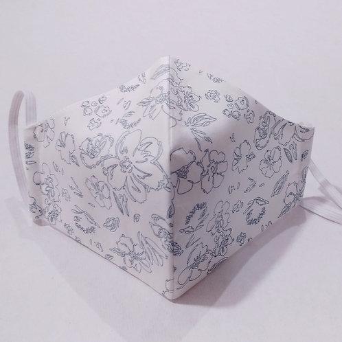 Cotton Mask- Elegant White