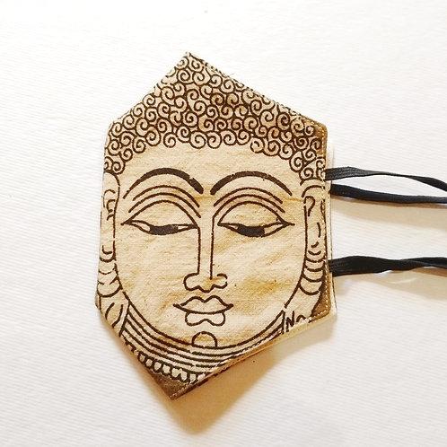 Cotton Mask - Buddha Print