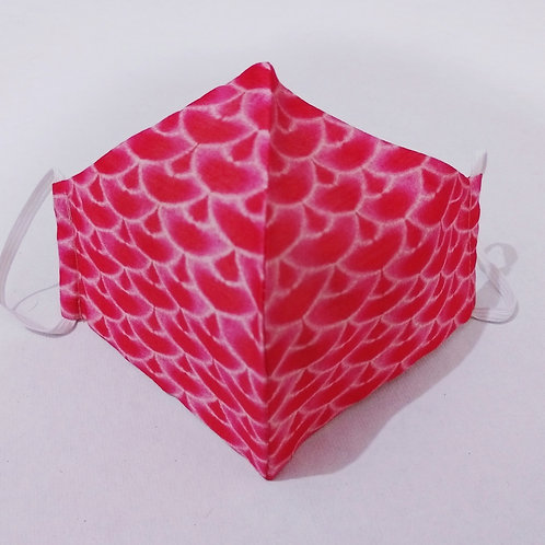 Cotton Mask - Festive Pink