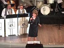 Nancy James with the RL Big Band 6-11-15  Carnegie Theater